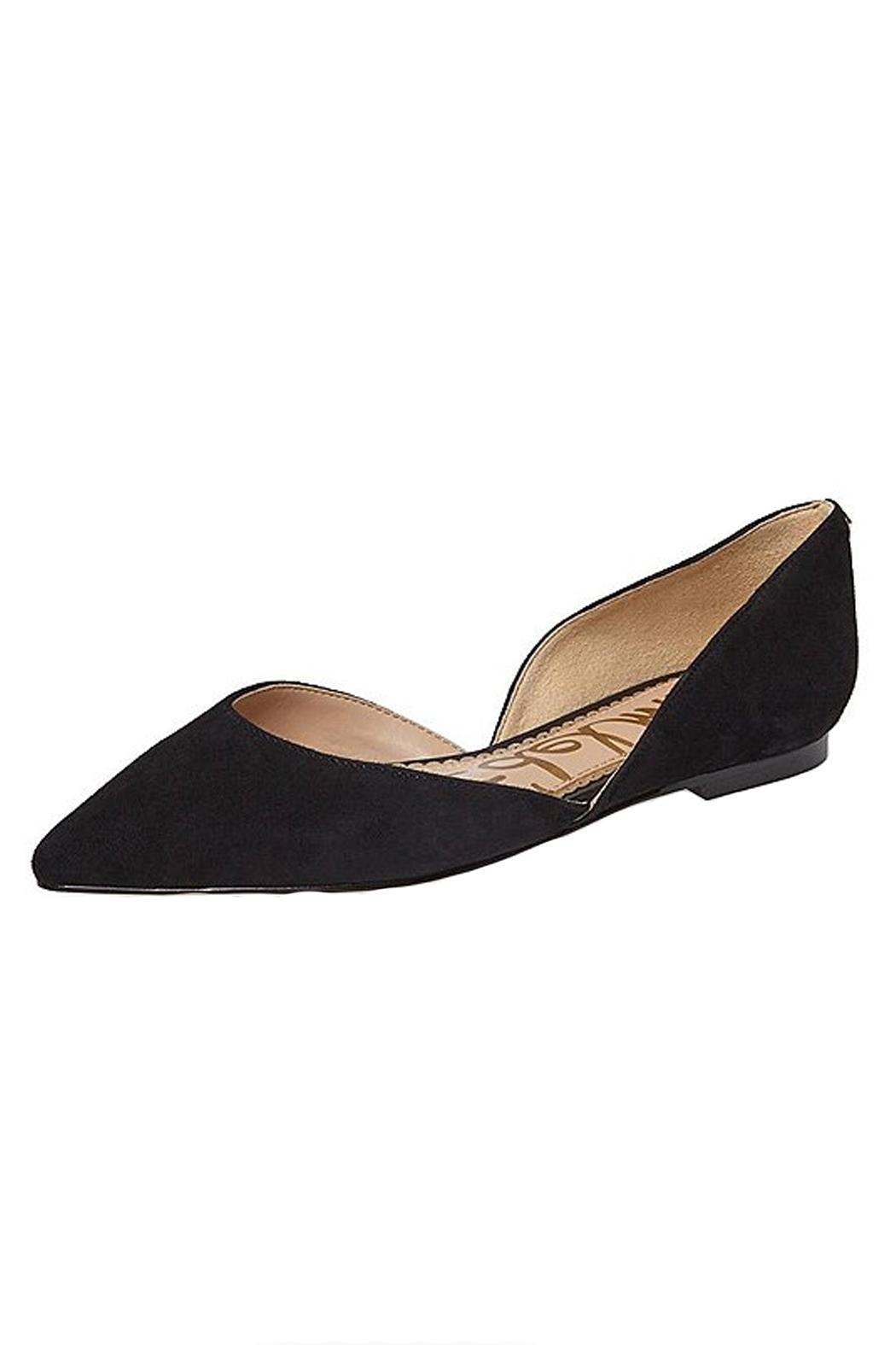 Sam Edelman Black D'orsay Flat Shoes - Front Cropped Image