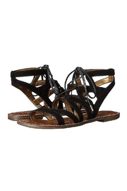 Sam Edelman Black Lace Up Sandal - Product Mini Image