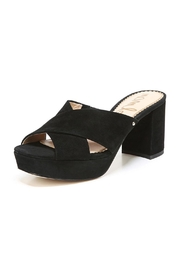 Sam Edelman Black Suede Platform - Product Mini Image