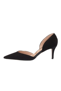 Sam Edelman Black Suede Pump - Product List Image