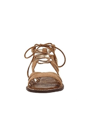 Sam Edelman Brown Lace Up Sandals - Side cropped