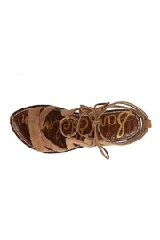 Sam Edelman Brown Lace Up Sandals - Other