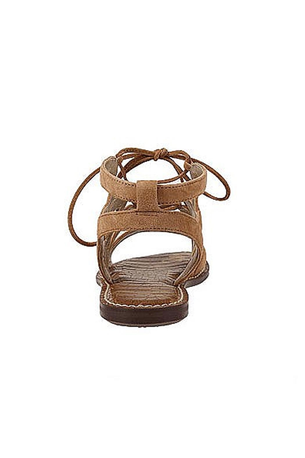 Sam Edelman Brown Lace Up Sandals - Front Full Image