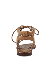 Sam Edelman Brown Lace Up Sandals - Front full body