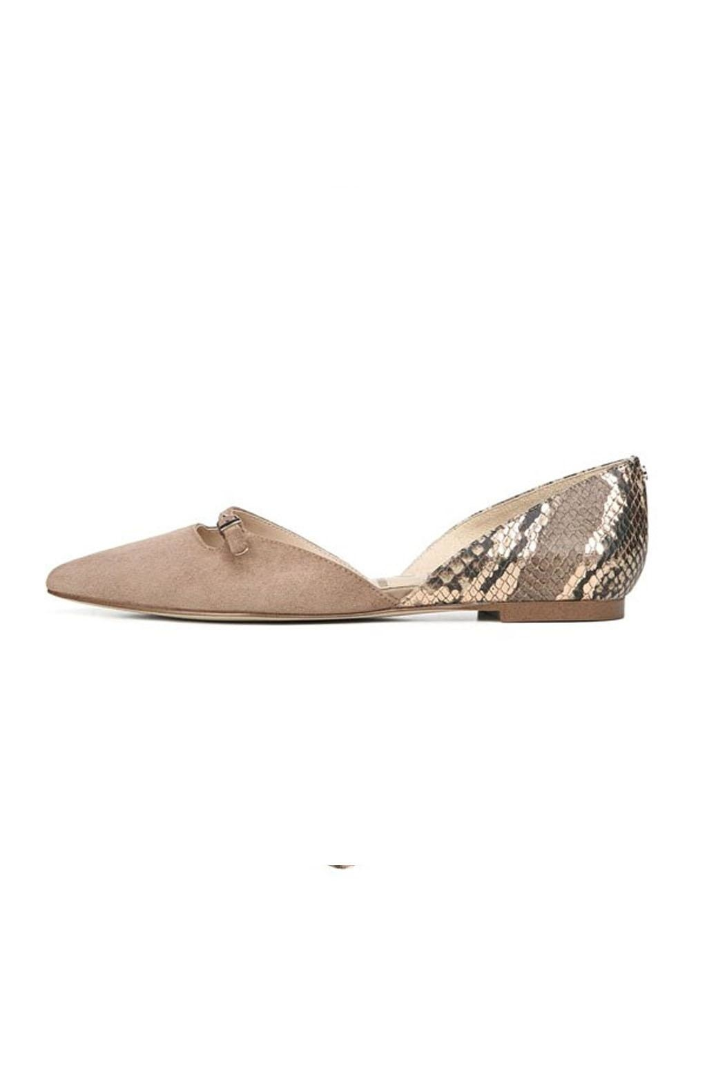 Sam Edelman Brown Snake Flats - Main Image