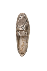 Sam Edelman Brown Snake Loafer - Front full body