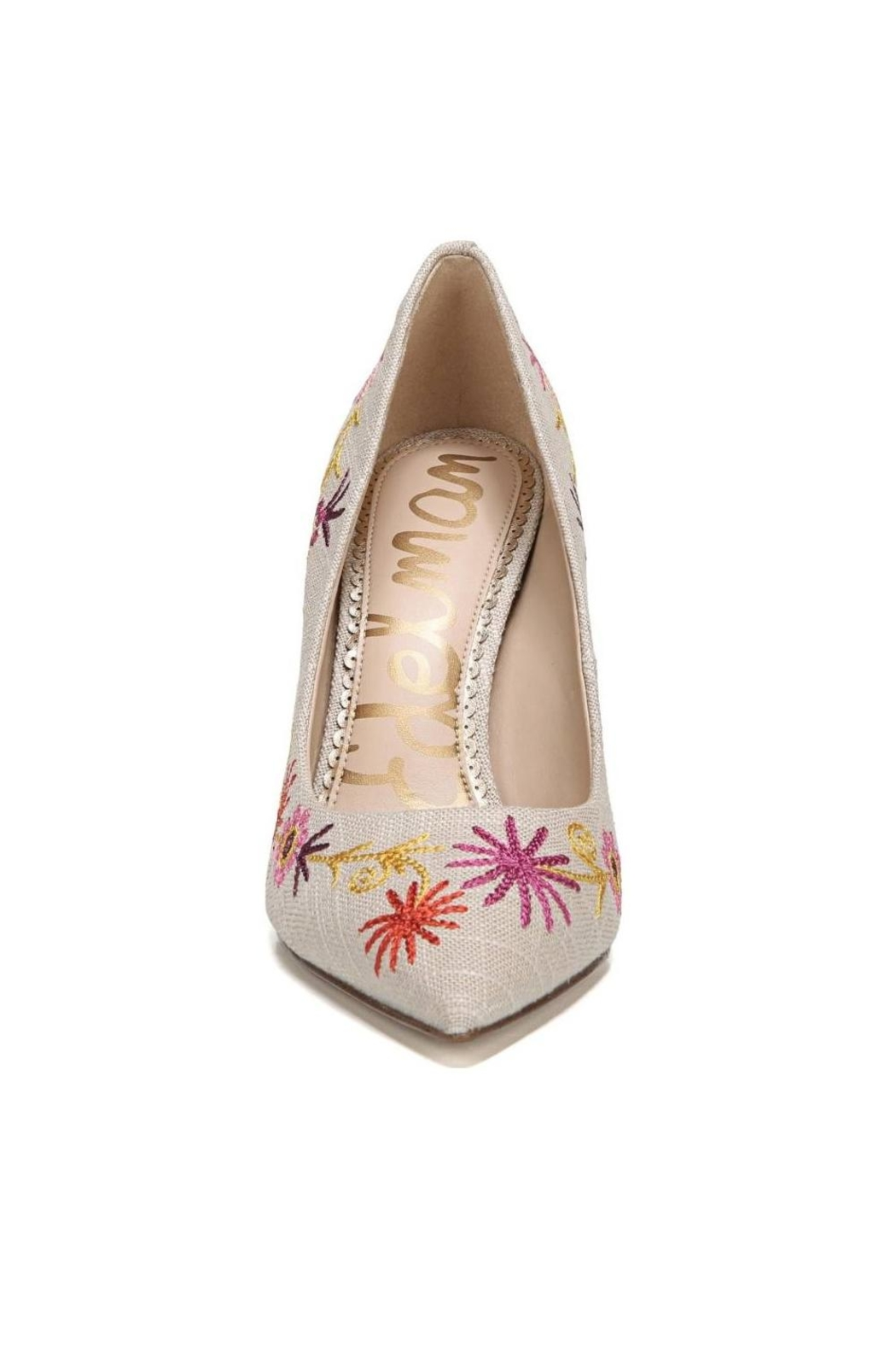 Sam Edelman Hazel Linen Pump - Side Cropped Image