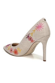Sam Edelman Hazel Linen Pump - Front full body