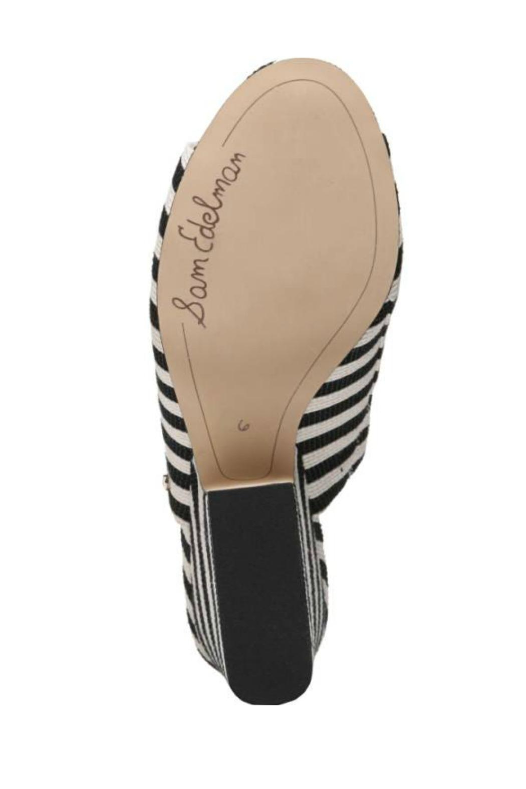 Sam Edelman Jill Striped Mule - Back Cropped Image