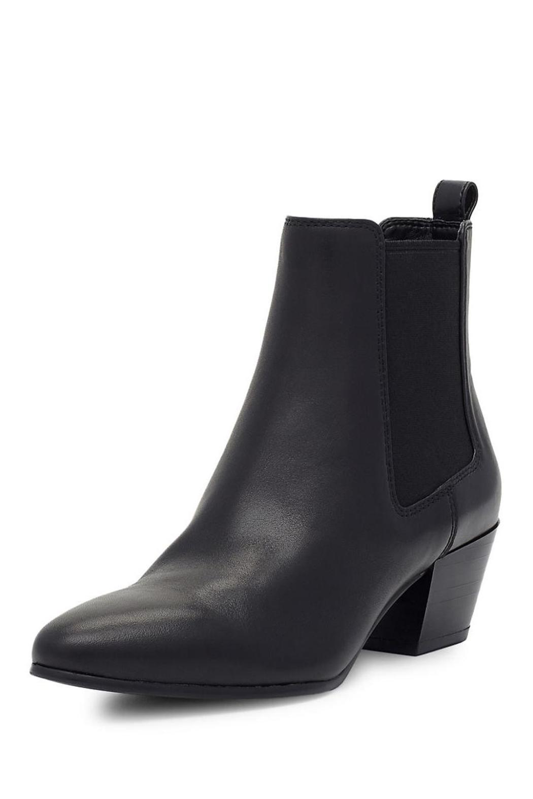 Sam Edelman Reesa Leather Bootie - Front Cropped Image