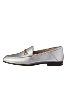 Shoptiques Product: Silver Metallic Loafer