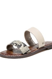 Sam Edelman Snake Print Slide - Product Mini Image