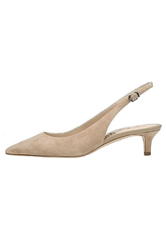Shoptiques Product: Taupe Kitten Heel Slingback