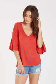 Dear John Samantha V-Neck with Stars - Product Mini Image