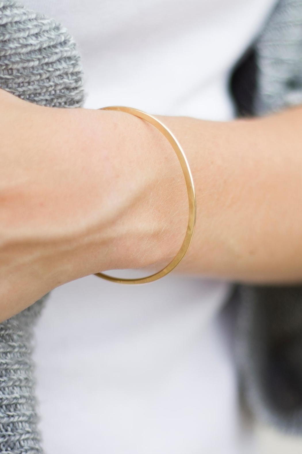 Samantha McIntosh Simple Bangle Cuff - Front Cropped Image