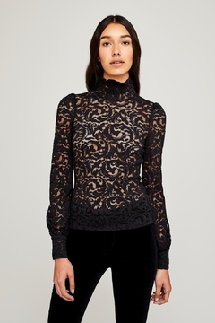 L'Agence Samara Lace Top - Product List Image
