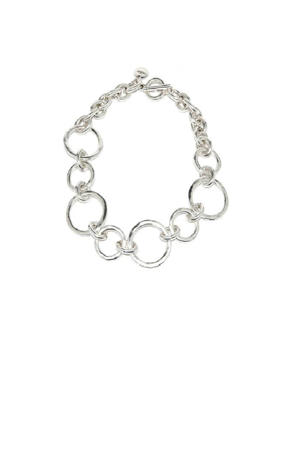 Samkas Silver Plated Necklace - Front Cropped Image