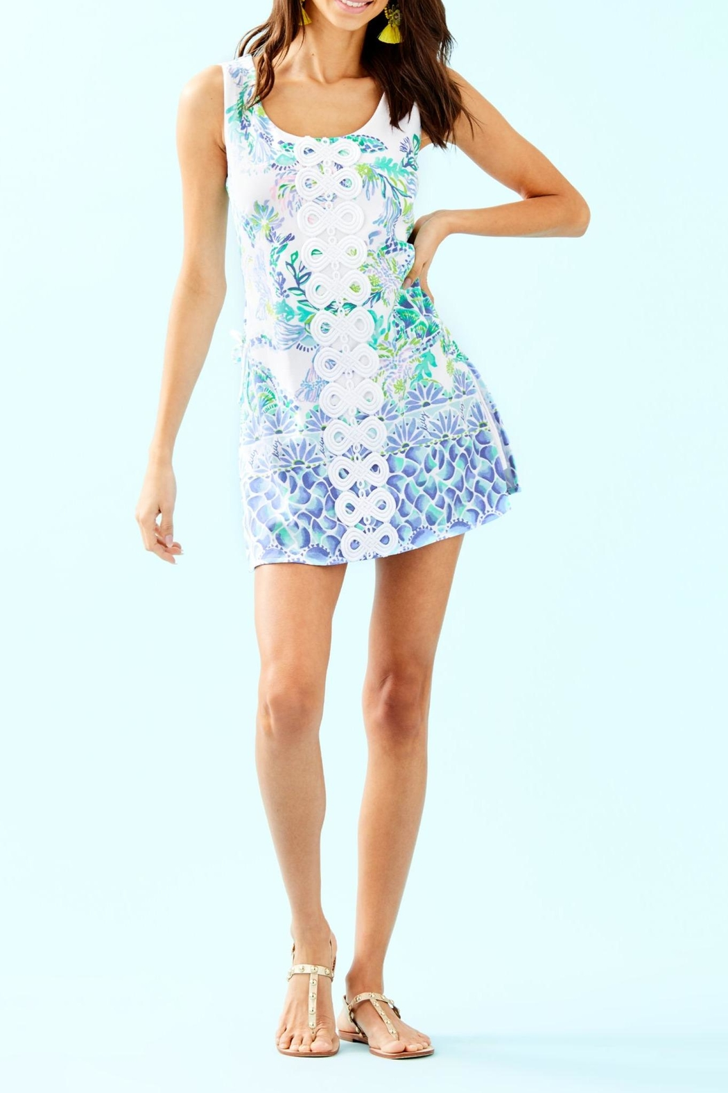 Lilly Pulitzer Sammi Romper - Back Cropped Image