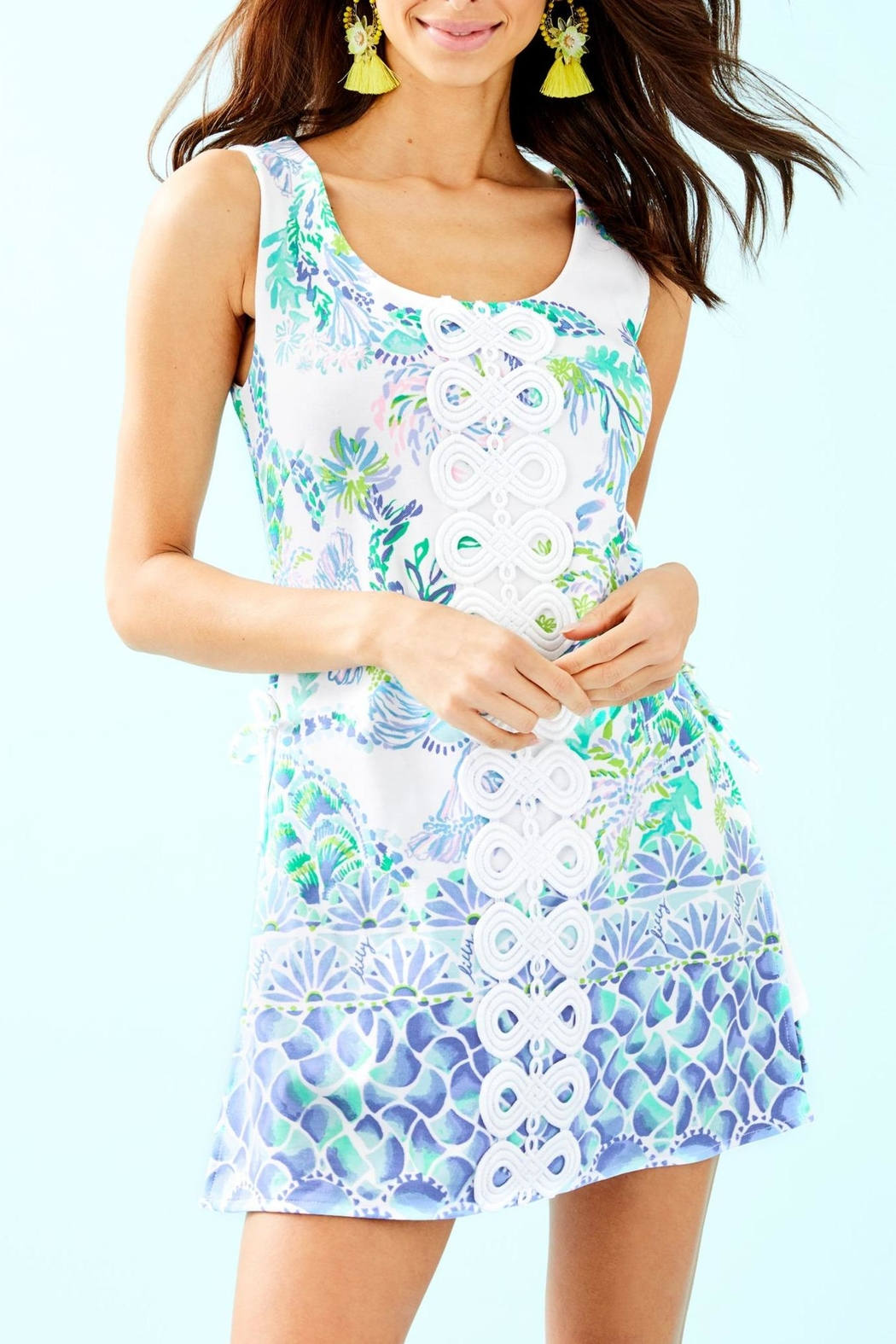 Lilly Pulitzer Sammi Romper - Front Cropped Image