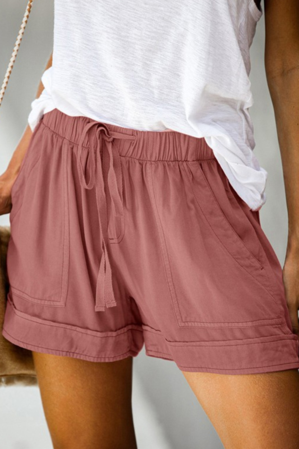 lily clothing Sammi Shorts - Front Cropped Image
