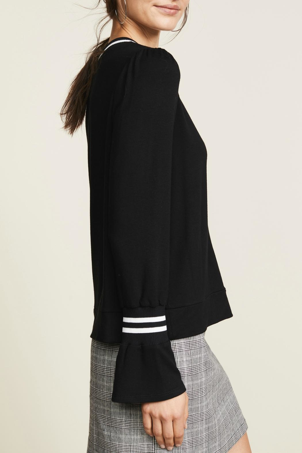 Generation Love  Sammy Rib Long-Sleeve-Top - Side Cropped Image