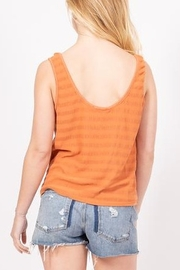 Very J  Sammy Tank Top - Front full body