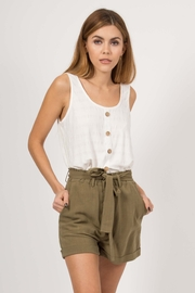 Very J  Sammy Tank Top - Front cropped