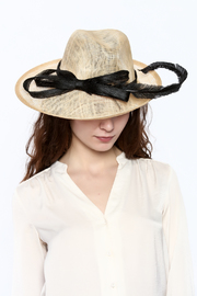 Samuel's Hats Ostrich Racing Hat - Back cropped