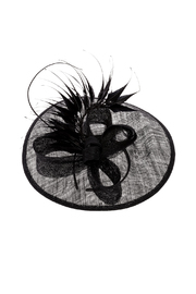 Samuel's Hats Preakness Derby Fascinator-Hat - Front cropped
