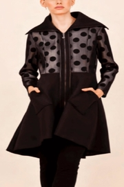 Samuel Dong Polka Dot Coat - Product Mini Image