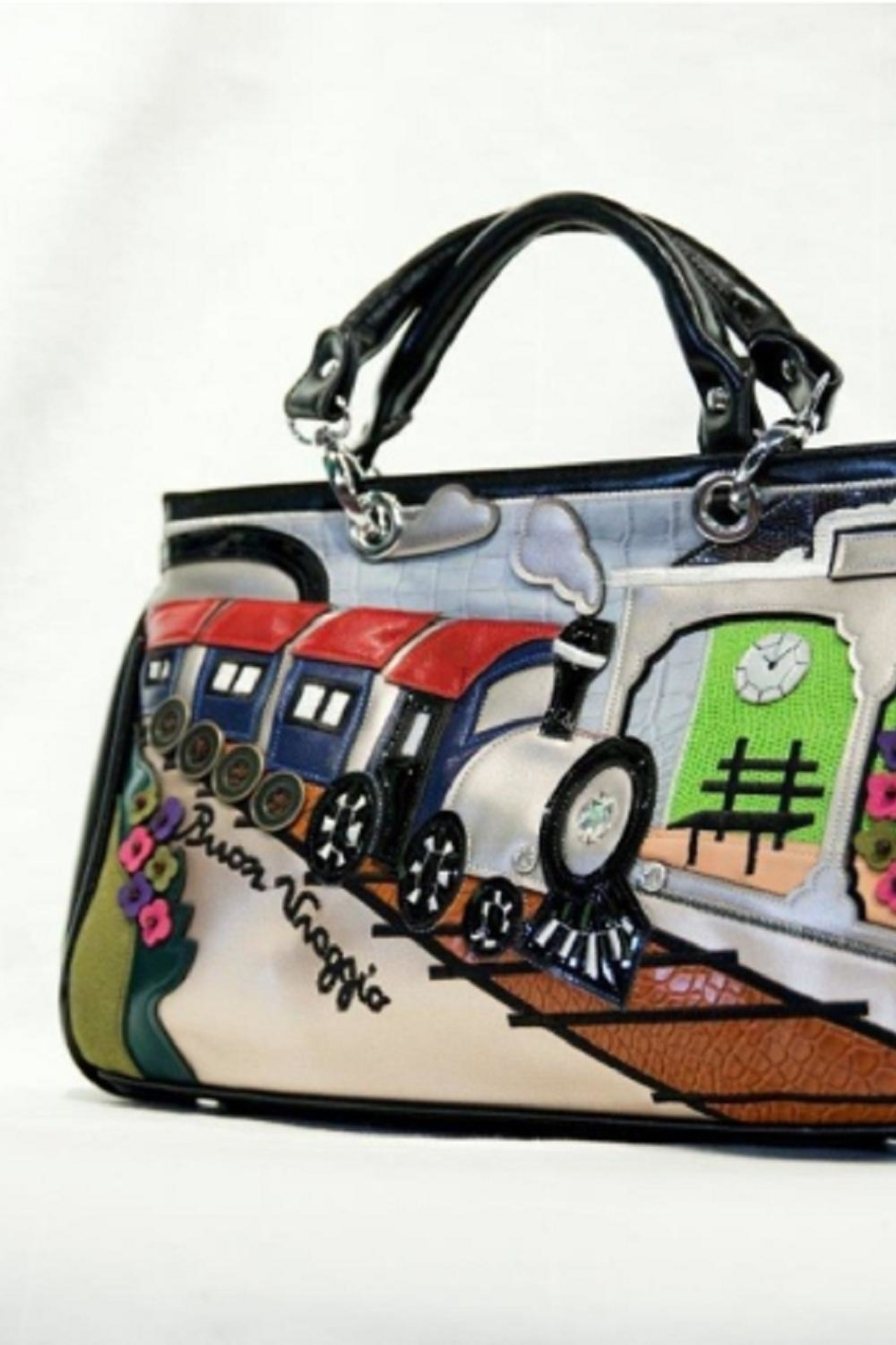 Samuel Dong The Train Bag - Front Full Image