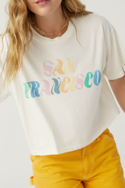 Daydreamer  San Francisco Cropped Tee - Front cropped