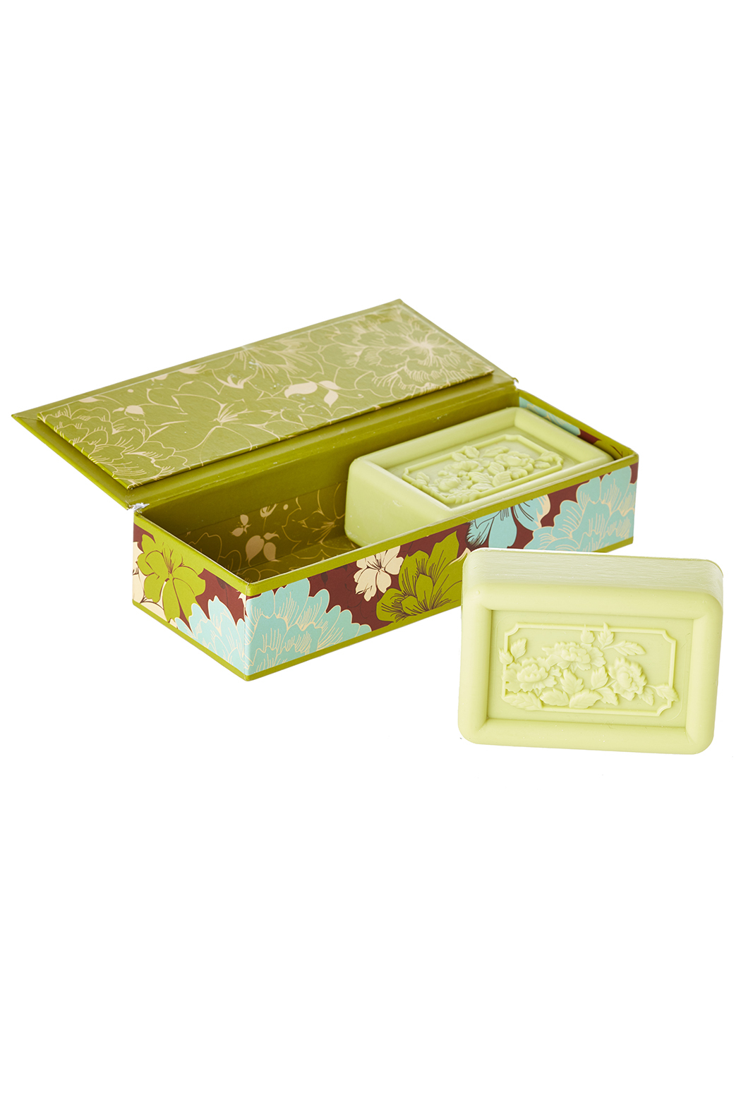 San Francisco Soap Company Sweet Pea Scented Soap - Front Full Image