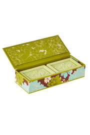 San Francisco Soap Company Sweet Pea Scented Soap - Back cropped