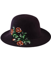 San Diego Hat Company Embroidered Wool Hat - Front cropped
