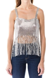San Joy Metal Mesh Top - Product Mini Image