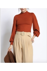San Souci Balloon Sleeve Top - Front cropped