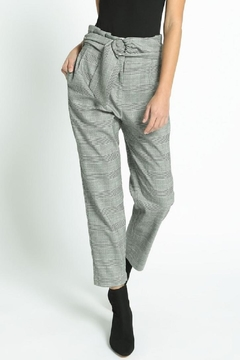 Shoptiques Product: Belted Check Pants
