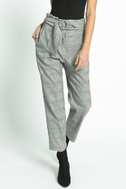 San Souci Belted Check Pants - Product Mini Image