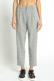 San Souci Plaid Trouser Pants - Product Mini Image