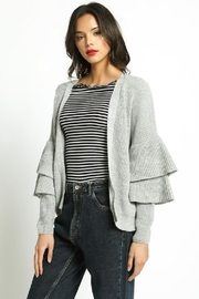 San Souci Tiered Sleeve Sweater - Product Mini Image
