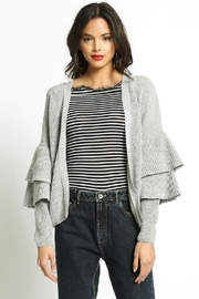 San Souci Tiered Sleeve Sweater - Front full body