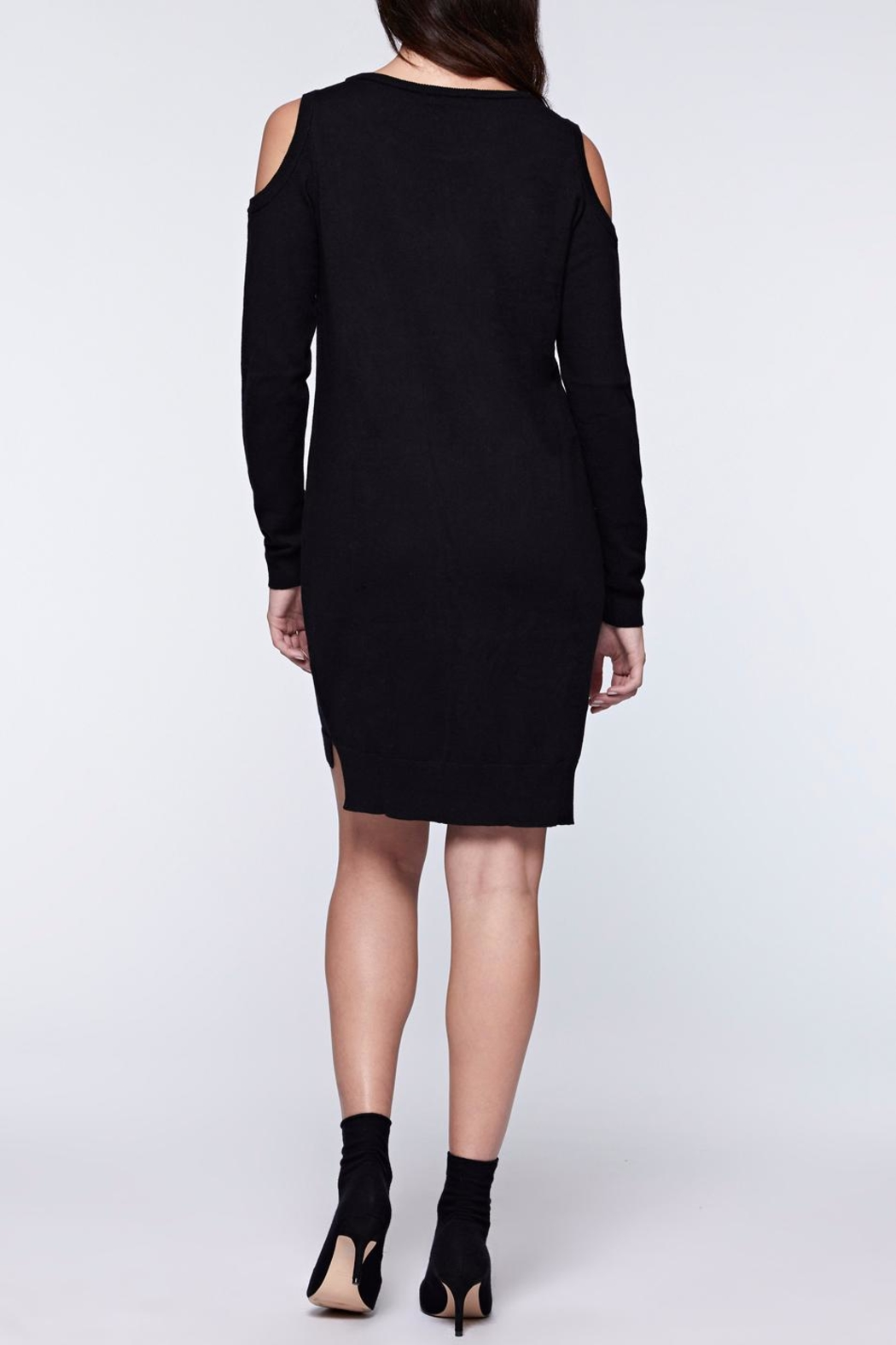 Sanctuary Amy Bare Sweater Dress - Front Full Image