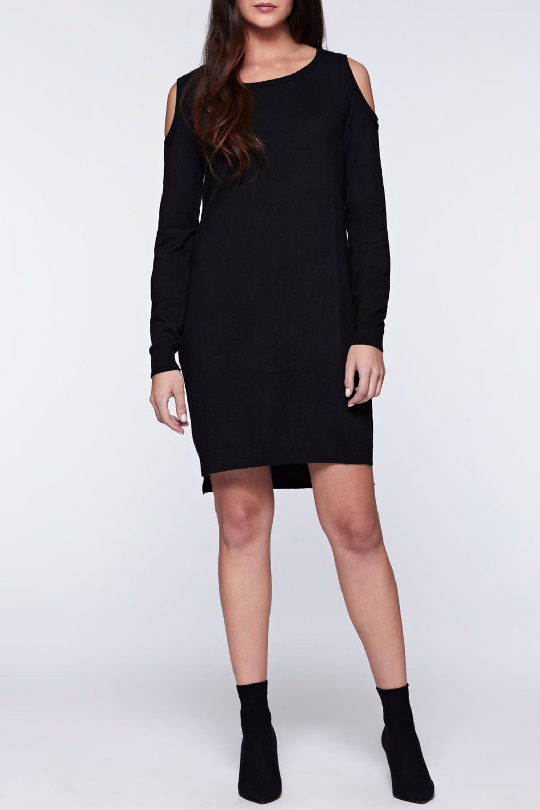 Sanctuary Amy Bare Sweater Dress - Front Cropped Image