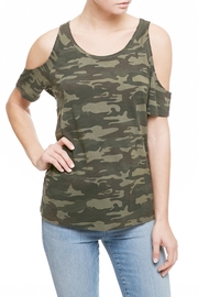 Sanctuary Lou Cold Shoulder Top - Product Mini Image