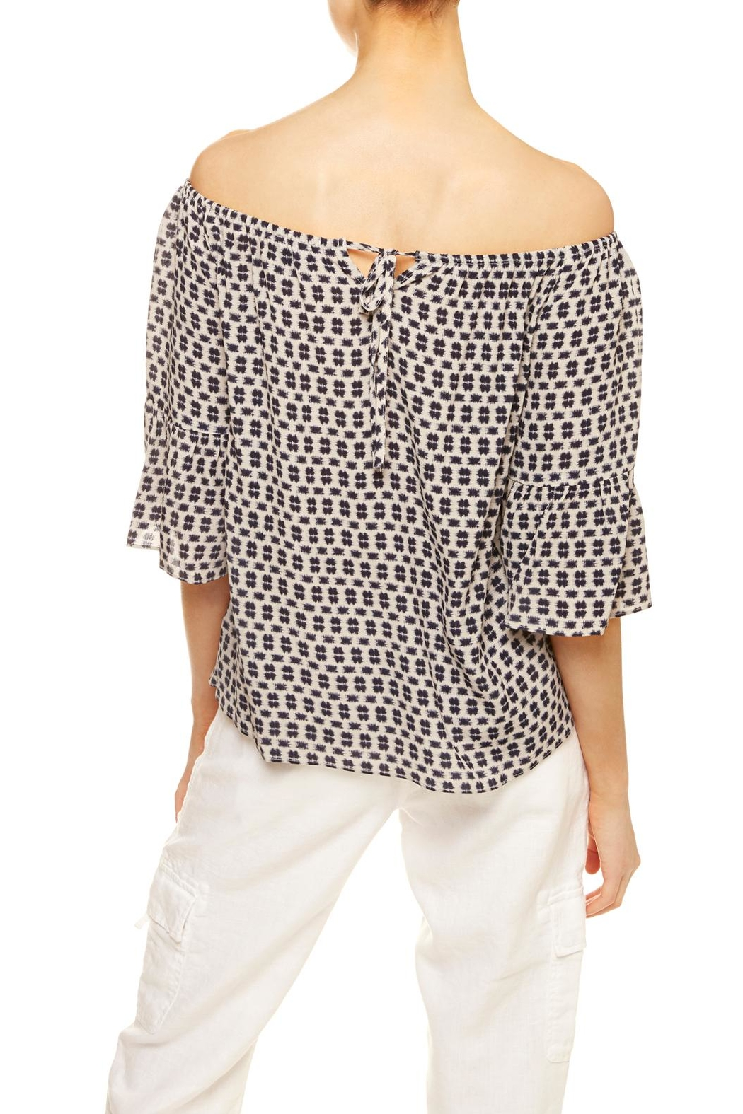Sanctuary Bell-Sleeved Top - Side Cropped Image