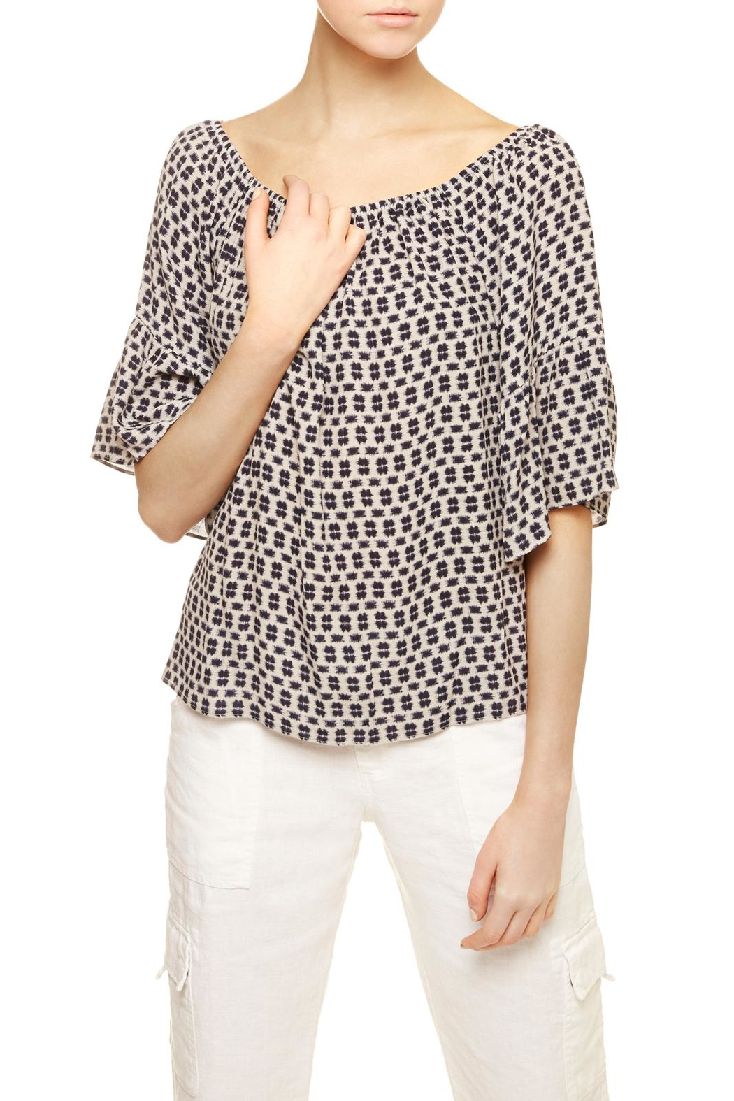 Sanctuary Bell-Sleeved Top - Front Full Image