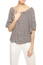 Sanctuary Bell-Sleeved Top - Front full body