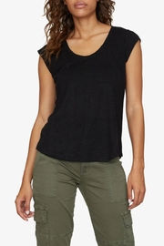 Sanctuary Black Alma Tee - Front cropped