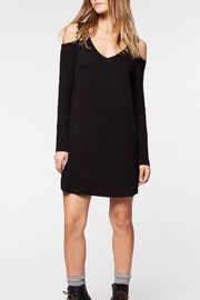 Sanctuary Black V Shift Dress - Product Mini Image